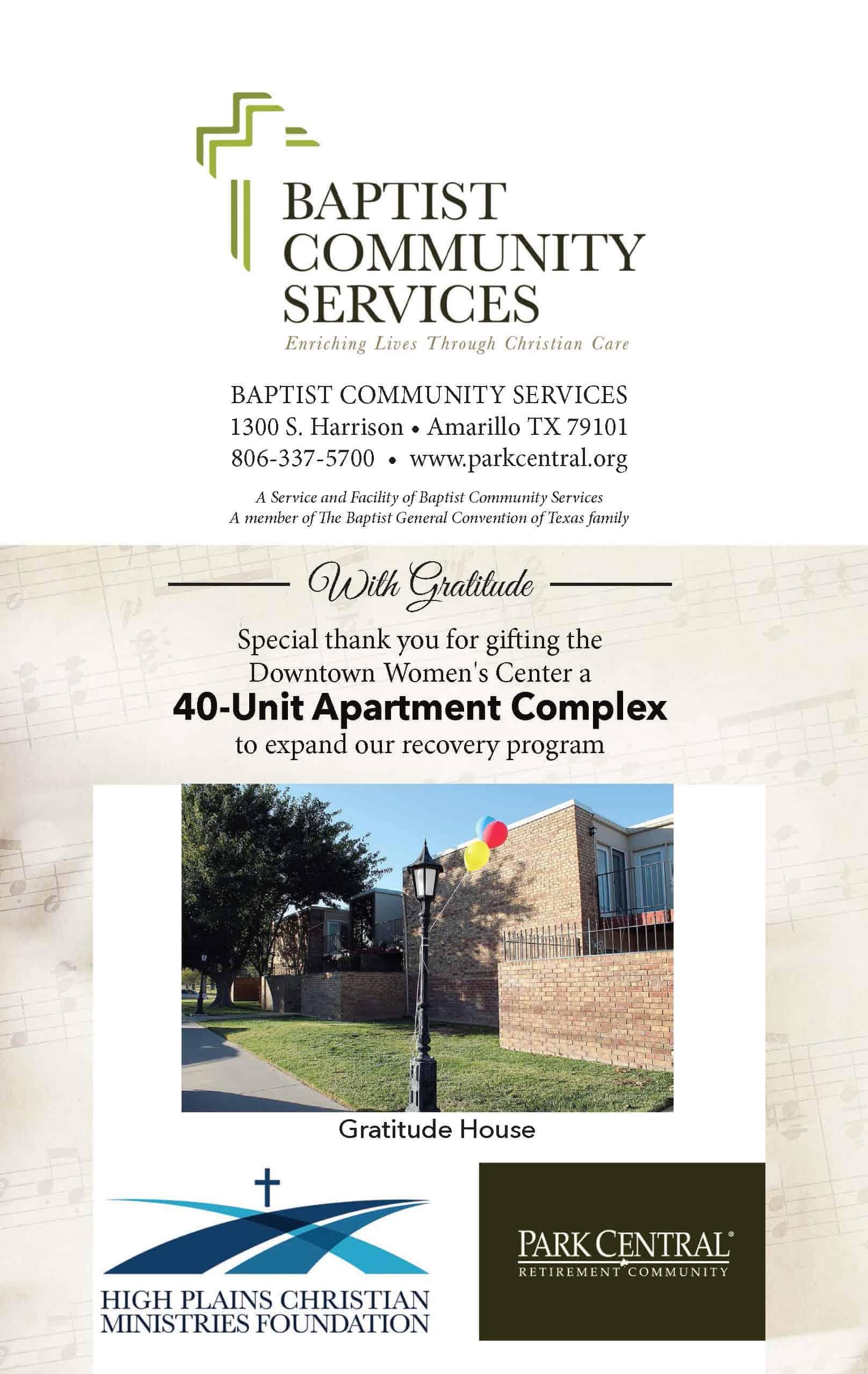Baptist Community Services