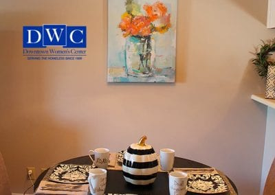 Downtown Womens Center Home Dining Room
